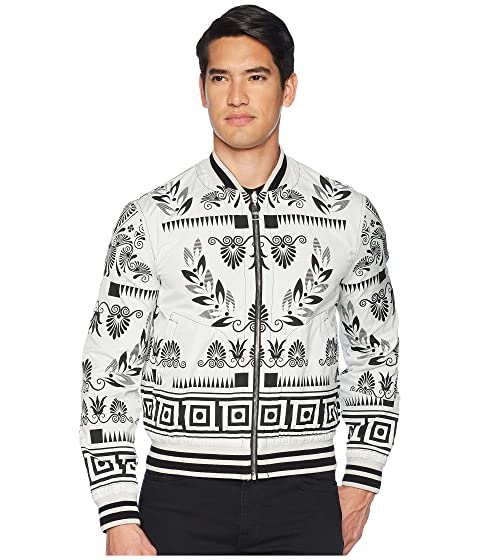 Versace Collection Print Bomber Reversible Floral pxrdtrf