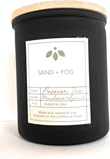 Sand And Fog Passion Tea Candle With Essential Oils 9 Oz