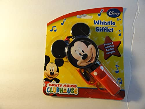 Mickey Mouse Heart Shaped Whistle by Disney