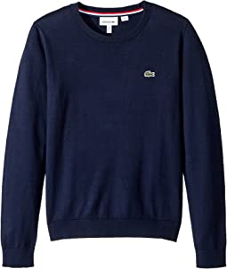 Classic Jersey Crew Neck Sweater (Toddler/Little Kids/Big Kids)