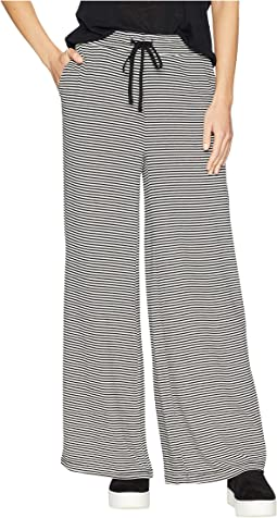 Stripe Dreams Striped Sweater Knit Wide Leg Pants