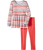 Splendid Littles Stripe Print Sweater Set (Toddler)