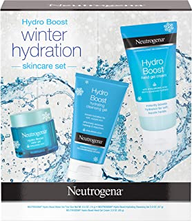 Neutrogena Hydro Boost Winter Gift Set With Hyaluronic Acid Gel Cream Moisturizer, 1.0 Count