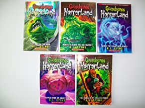 Goosebumps Horrorland (Partial Set of 5) Creep; Monster Blood; Ghost Dog; Hamsters; Chiller House