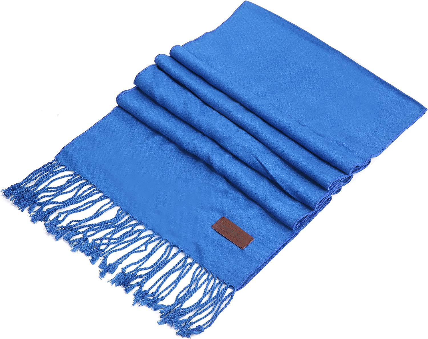 Mio Marino Cashmere Feel Winter Scarf, 100% Soft Cotton Cozy and Itch Free Scarves