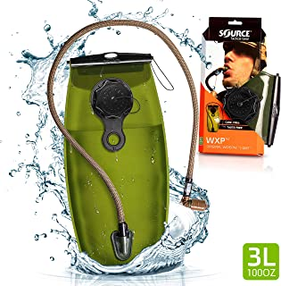 Source Tactical WXP 3-Liter Hydration Reservoir Leakproof Antimicrobial System with Storm Valve