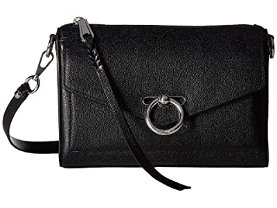 Rebecca Minkoff Jean Mac (Black) Cross Body Handbags