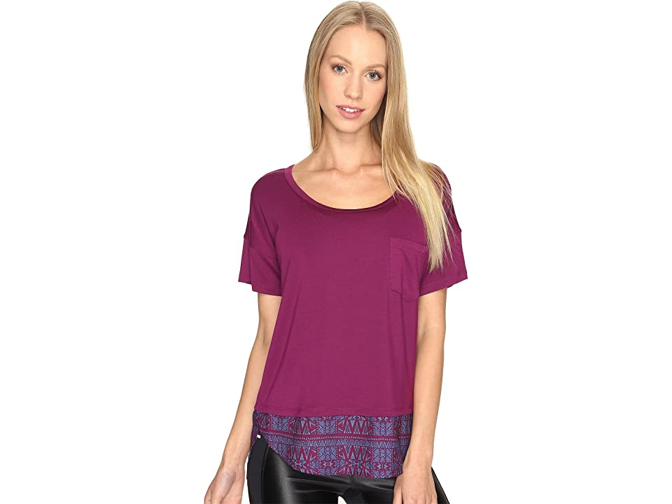 Lole Agda Top (Plum Caspia) Women