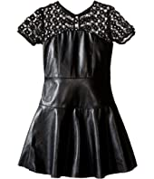 Ella Moss Girl - Mckenzie Faux Leather Dress (Big Kids)