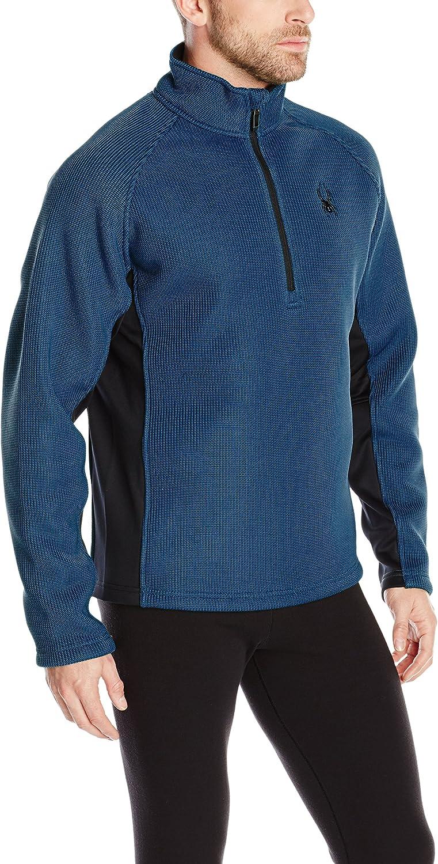 Spyder Men's Pitch Half Zip Jacket