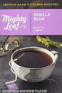 Mighty Leaf Tea Vanilla Bean Hand-Stitched Tea Bags, 15 ct