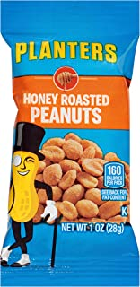 Planters Honey Roasted Peanuts (1 oz Bags, Pack of 144)