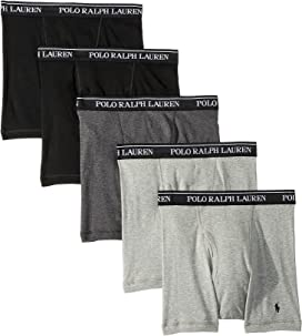 Wicking Lauren Boxers Knit Polo Pack Ralph W Classic Fit 3 PkiXOZu