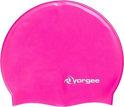 Vorgee Super-Flex Silicone Swim Cap Bonnet de Natation Mixte