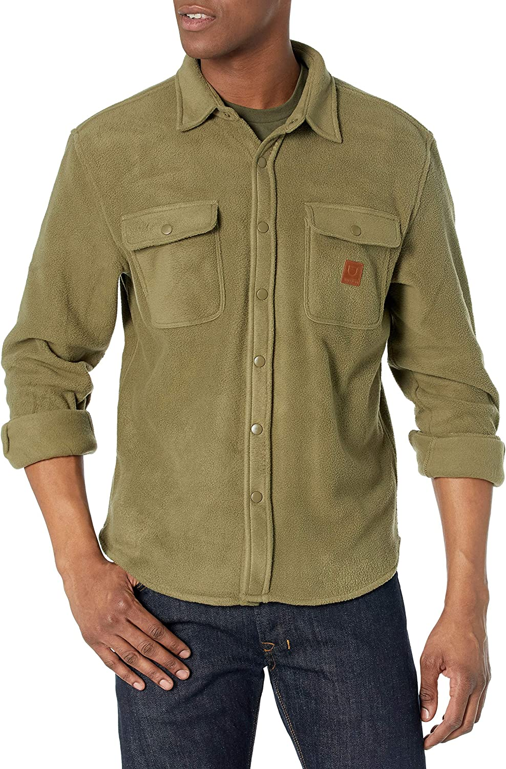 Brixton Men's Bowery Fleece Flannel Topics on TV S Free shipping anywhere in the nation L