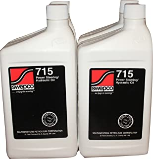 Swepco 715 Power Steering/Hydraulic Oil Case of 4qts.