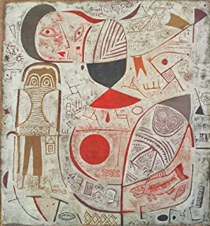 Paul Klee Printed Sheet with Picture Phillips Collection 30