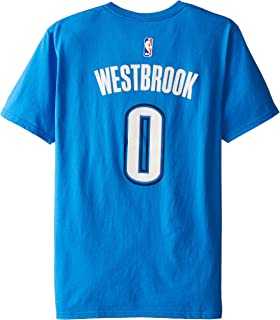 adidas NBA Mens U Series Road N&N TEE #0 Russell Westbrook