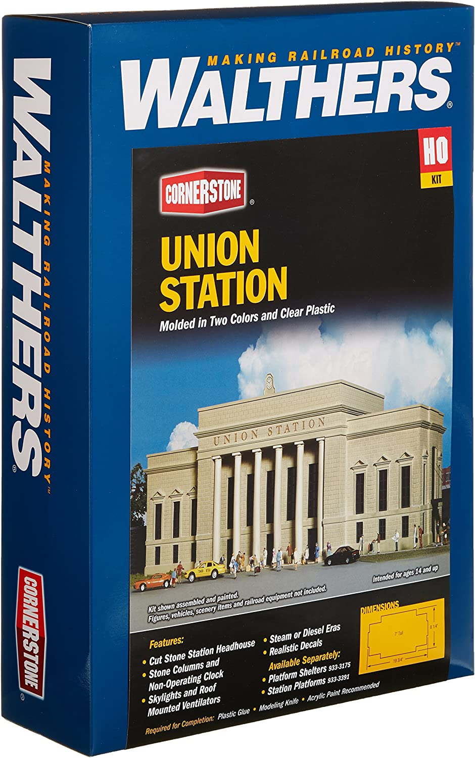 Walthers Cornerstone Series Kit HO Scale Union Station