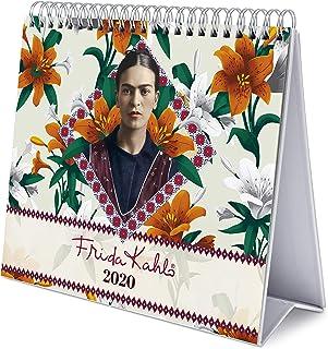 ERIK - Calendario de Escritorio Deluxe 2020 Frida Kahlo (17x20 cm)