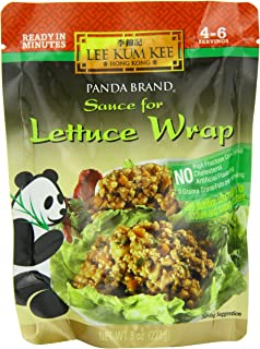 Lee Kum Kee Panda Lettuce Wrap Sauce, 8-Ounce Packets  (Pack of 6)
