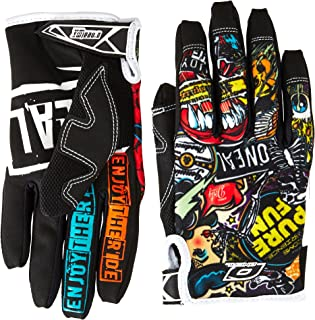 O'Neal Guantes Jump Glove Crank, Black/Multicolor, L/9