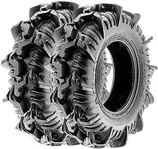 TERACHE Aztex ATV UTV Trail & Mud Tires 32x9-14 32x9x14 Tubeless Race Premium 8 Ply, [Set of 2]