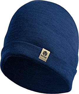 Bush Edge 100% Merino Wool Cuff Beanie Hat