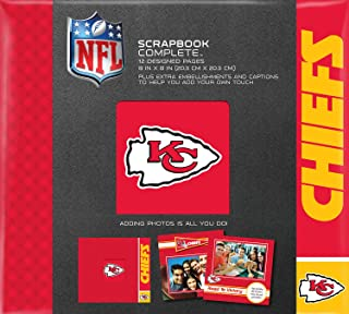 C.R. Gibson Scrapbook Complete Kit, Small, Kansas City Chiefs (N878495M)
