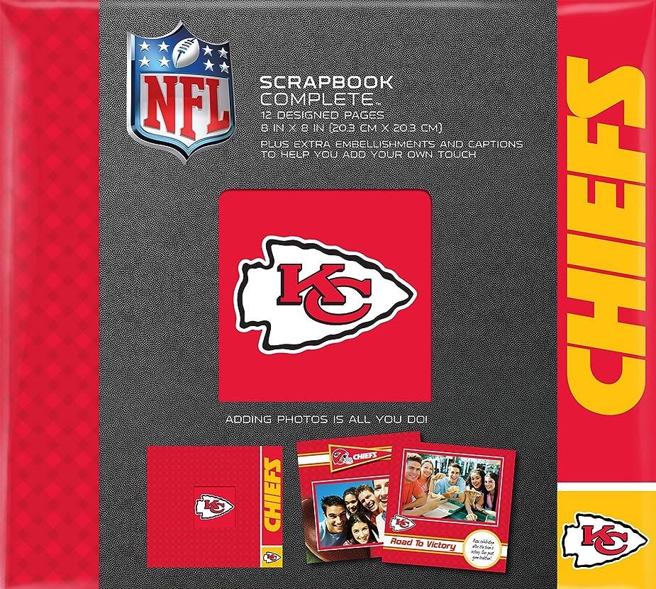 C.R. Gibson Scrapbook Complete Kit, Small, Kansas City Chiefs (N878495M) mtaupu3657495