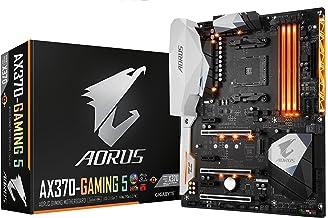 GIGABYTE AORUS GA-AX370-Gaming 5 (AMD Ryzen AM4/ X370/ RGB FUSION/ SMART FAN 5/ HDMI/ M.2/ U.2/ USB 3.1 Type-C/ ATX/ DDR4/...