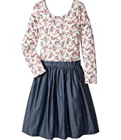 fiveloaves twofish - Floral Fields Abbie Dress (Little Kids/Big Kids)