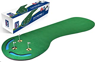 PGA TOUR Three Hole Putting Mat - 3 x 9 Feet