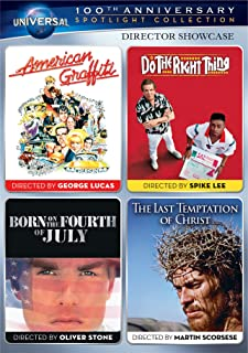 Director Showcase Spotlight Collection: (American Graffiti / Do the Right Thing / Born on the Fourth of July / The Last Temptation of Christ)