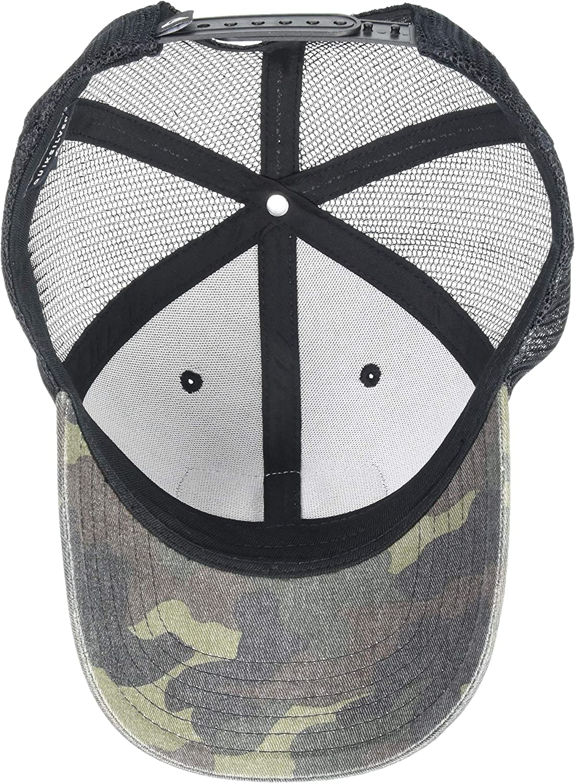 Quiksilver Mens Rinsed Off Trucker Hat