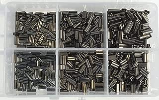 Small Line Mini Copper Crimp Kit 600pcs -100 each of.6mm-1.6mm 30Lb-200LB