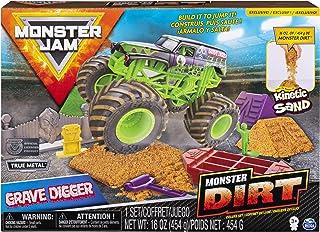 Monster Jam, Grave Digger Monster Dirt Deluxe Set,...