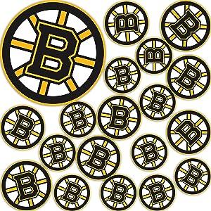 Boston Bruins Team NHL National Hockey League Sticker Vinyl Decal Laptop Water Bottle Car Scrapbook (Type 3 - Main Logo)