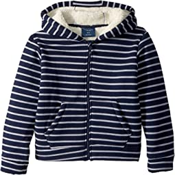 Fleece Lined Stripe Hoodie (Toddler/Little Kids/Big Kids)