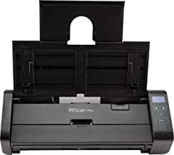 $254 Get IRISCan Pro 5 PC and Mac Mobile Multi-Functional Duplex Color Document Image Scanner 23 ppm with Ultrasonic Feature