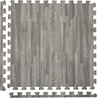 Incstores - Premium Soft Wood Interlocking Foam Tiles (2'x2') - Excellent for Trade Show Flooring, Exhibit Flooring, Display Flooring, Conventions, Living Areas, Play Rooms, Yoga, Pilates and Other Light Aerobic/cardio Exercises
