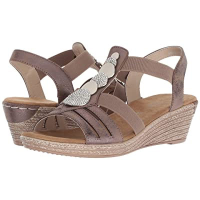 PATRIZIA Shprinza Wedge Sandal (Taupe) Women