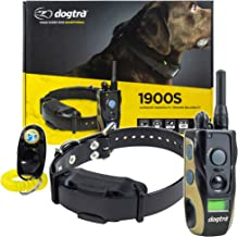Dogtra 1900S / 1902S Remote Training Collar - 3/4 Mile Range, Waterproof, Rechargeable, Shock, Vibration - Includes PetsTEK Dog Training Clicker