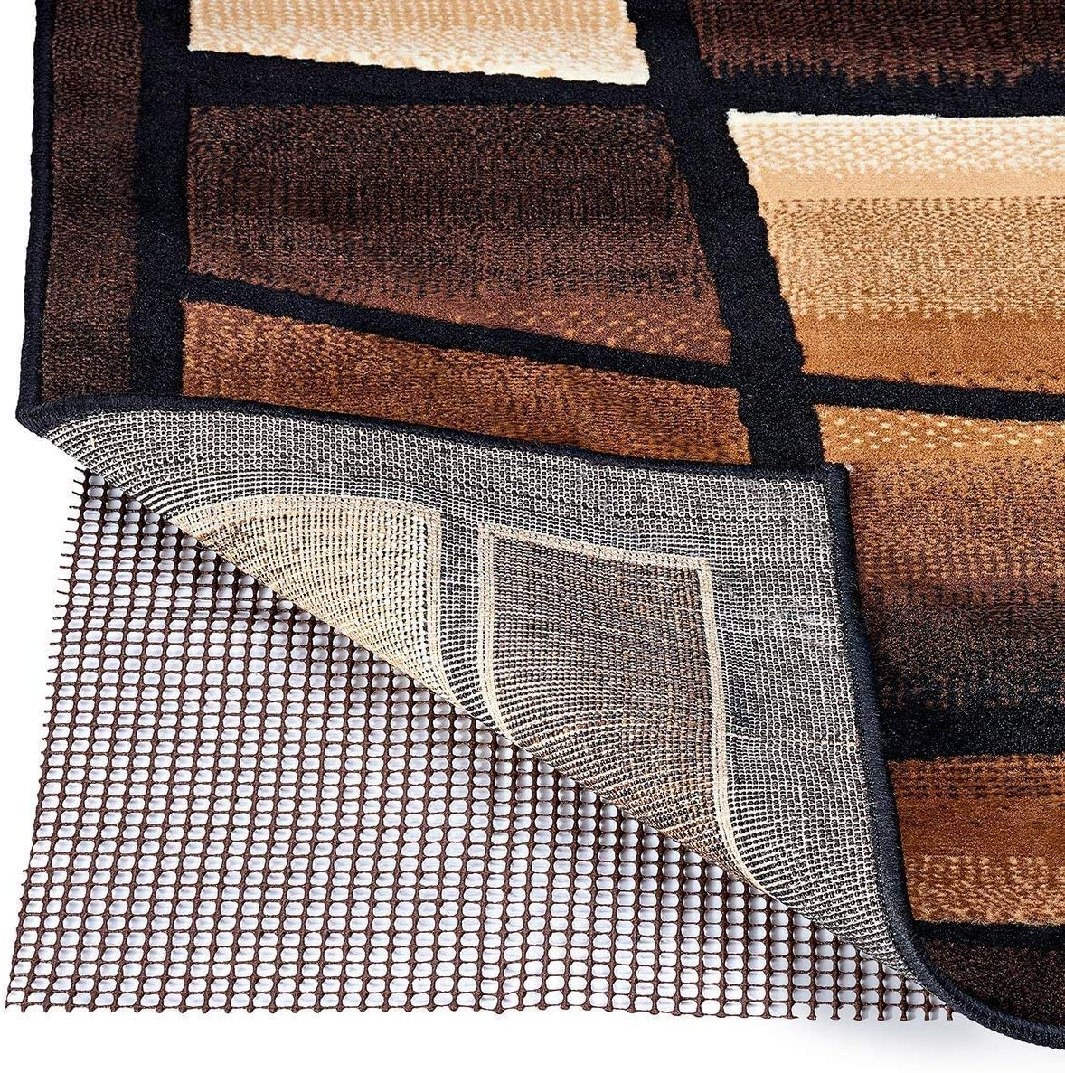 Modern At the price Outlet Non-Slip Area Rug Rubberized Indoor Some reservation - Pad Grip