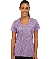 Under Armour - UA Tech™ Disruptive Space Dye Short Sleeve V-Neck