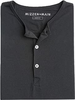 Mizzen + Main Men's Casual Henley Long Sleeve Shirt