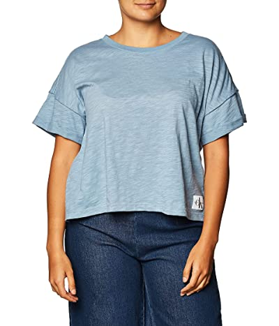 Calvin Klein Short Sleeve Cropped Logo T-shirt