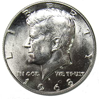 1968 D 40% Silver Kennedy Half Dollar 50¢ Brilliant Uncirculated