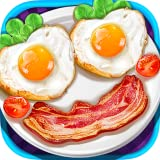 A super fun food-making game Make yummy breakfast for fried eggs, omelette, juice, fried bacon & hams and corn flakes Tons of realistic cooking tools to play: egg molds, pan, cooking range, plates, frying tong, bowls, egg blender, spatula, fork, meas...