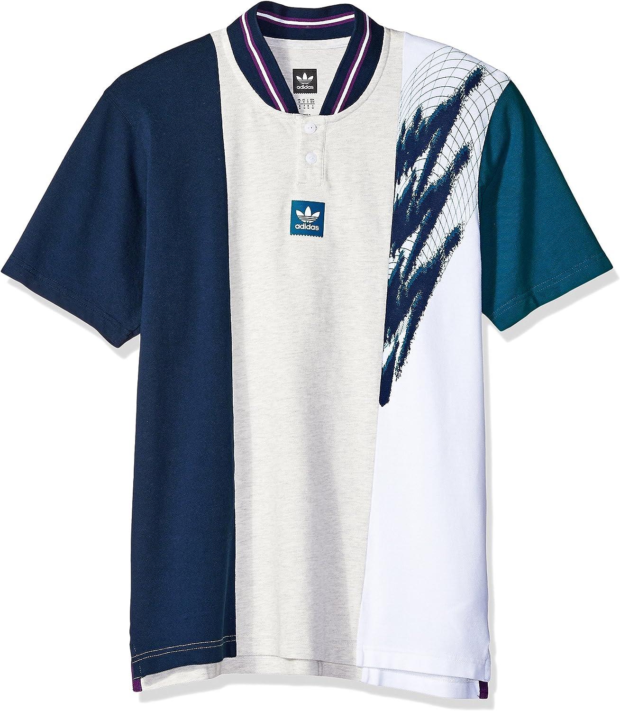 adidas Originals Men's Skateboarding Short Sleeve Tennis Jersey